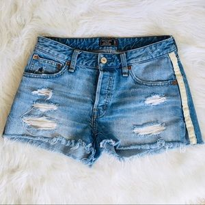Abercrombie & Fitch Denim Cut off Jean Shorts